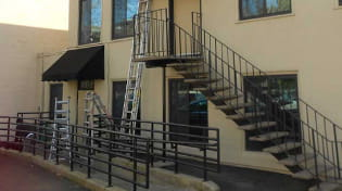 commercial iron railing 2