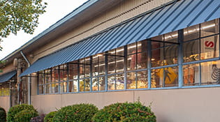 commercial metal awning 2