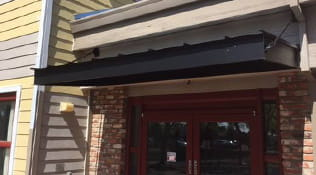 commercial metal awning 3