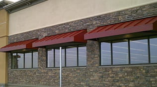 commercial metal awning 4