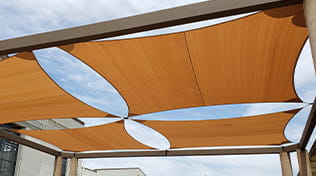 commercial outdoor shade sail 3