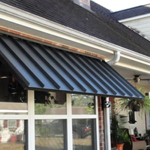 residential metal awning