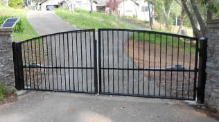residential driveway gate 3