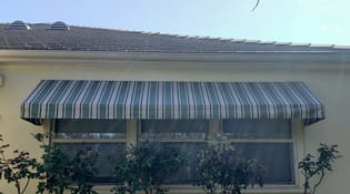 residential fabric window awning