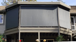 residential outdoor roller shade gallery 8