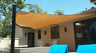 residential outdoor shade sail gallery 1