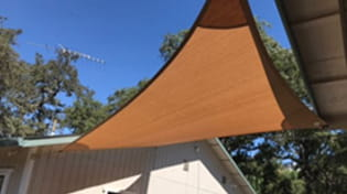 residential outdoor shade sail gallery 2