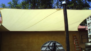 residential outdoor shade sail gallery 3