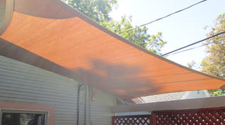 residential outdoor shade sail gallery 6