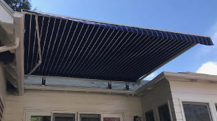 residential retractable awning gallery 2